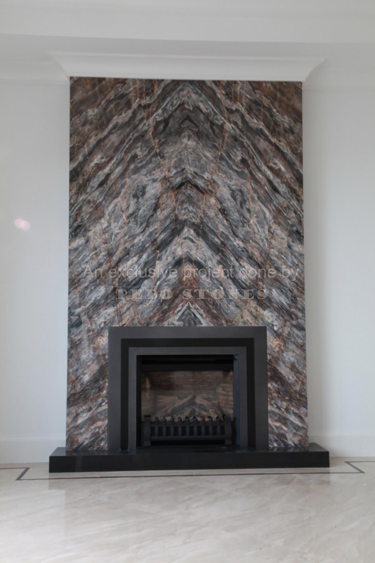PeboStones Fireplace projects